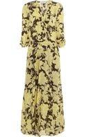 Paul & Joe Umako Floralprint Silk Maxi Dress - Lyst