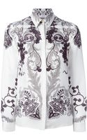 Versace Paisley Style Shirt - Lyst