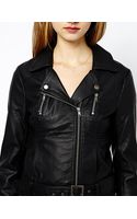 French Connection Albany Biker Jacket in Pu - Lyst