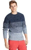 Tommy Hilfiger Ombre Stripe Sweater - Lyst