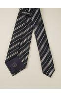 Giorgio Armani Striped Tie - Lyst