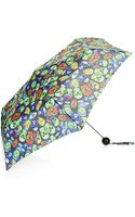 Topshop Womens Crazy Skulls Umbrella  Multi - Lyst