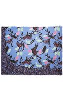 Matthew Williamson Abstract Nature Modalblend Scarf - Lyst