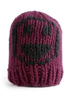 Wool And The Gang Smiley Beanie - Lyst