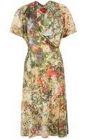 Vivienne Westwood Red Label Multicolour Floral Print Kickout Jersey Dress - Lyst