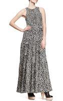 Proenza Schouler Sleeveless Printed Maxi Dress - Lyst