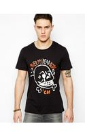 Cheap Monday Tshirt with Skull Print - Lyst