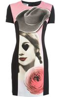 Moschino Cheap & Chic Printed Dress - Lyst