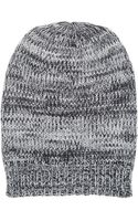 Hat Attack Marled Knit Slouchy Hat - Lyst