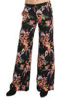 10 Crosby Derek Lam Floral Wide Leg Pant - Lyst