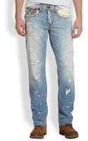 True Religion Ricky Straight Leg Jeans - Lyst