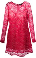 Marc By Marc Jacobs Lace Dress - Lyst