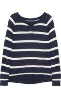 Splendid Striped Knitted Sweater - Lyst