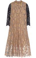 Biyan Amara Embellished Metallic Lace Dress - Lyst