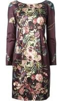 Antonio Marras Floral Print Dress - Lyst