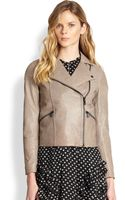 Marc By Marc Jacobs Karlie Leather Jacket - Lyst