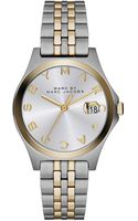 Marc By Marc Jacobs 30mm The Slim Twotone Watch with Bracelet - Lyst