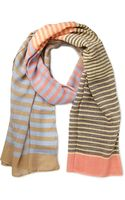 21men Everyday Striped Scarf - Lyst