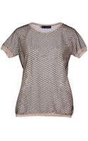 DSquared2 Short Sleeve Sweater - Lyst