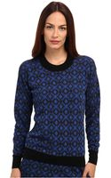 Paul Smith Jacquard Sweater - Lyst