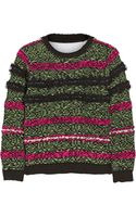 Julien David Textured Woolblend Sweater - Lyst