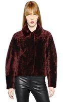 Drome Fur Jacket - Lyst