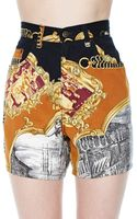 Nasty Gal Moschino When in Rome Shorts - Lyst