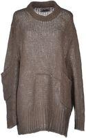 Acne Studios Open-Knit Oversized-Fit Sweater - Lyst