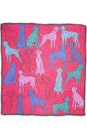Anna Coroneo Dalmatianprint Scarf - Lyst