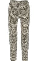 Rag & Bone Easier Printed Silk Straight-leg Pants - Lyst