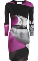Mary Katrantzou Printed Silkjersey Dress - Lyst