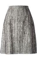 Balenciaga Printed Aline Skirt - Lyst