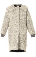 Stella McCartney Clara Mohair and Wool Blend Bouclé Coat - Lyst