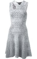 McQ by Alexander McQueen Cracked Dress - Lyst