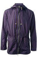 Paul Smith Hooded Rain Jacket - Lyst