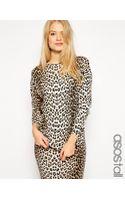 Asos Tall Sweater in Leopard Print - Lyst