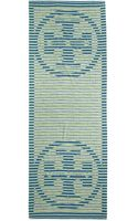 Tory Burch Reva Striped Scarf - Lyst