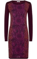 Paul By Paul Smith Print Front Knit Dress - Lyst