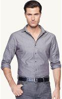Ralph Lauren Black Label Chambray Sloan Sport Shirt - Lyst