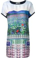 Mary Katrantzou Lanta Jersey Dress - Lyst