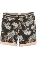 Scotch & Soda Chino Shorts with Belt - Lyst