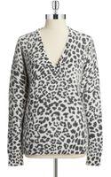 MICHAEL Michael Kors Angora Rabbit Hair Sweater - Lyst