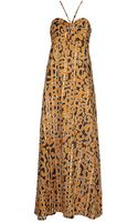 Stefanel Long Dress - Lyst