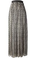 Jean Paul Gaultier Printed Skirt - Lyst