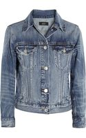 J.Crew Vintage Denim Jacket - Lyst