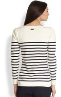 Burberry Nautical Stripe Sweater - Lyst