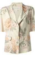 Byblos Vintage Floral Print Jacket - Lyst