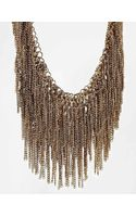 Aldo Coney Chain Drape Collar Necklace - Lyst