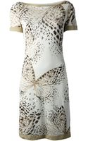 Blumarine Butterfly Dress - Lyst