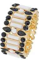 Kensie Gemstone Stretch Bracelet - Lyst